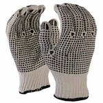 Double Side Cotton Dotted Gloves