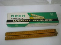Four Fold Wood Ruler